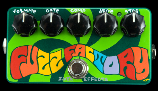 ZVEX U.S.A. Fuzz Factory- Latest Hand Painted Version
