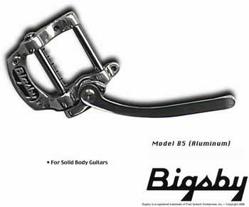 Bigsby B5 tremolo for flat-top solid body guitars