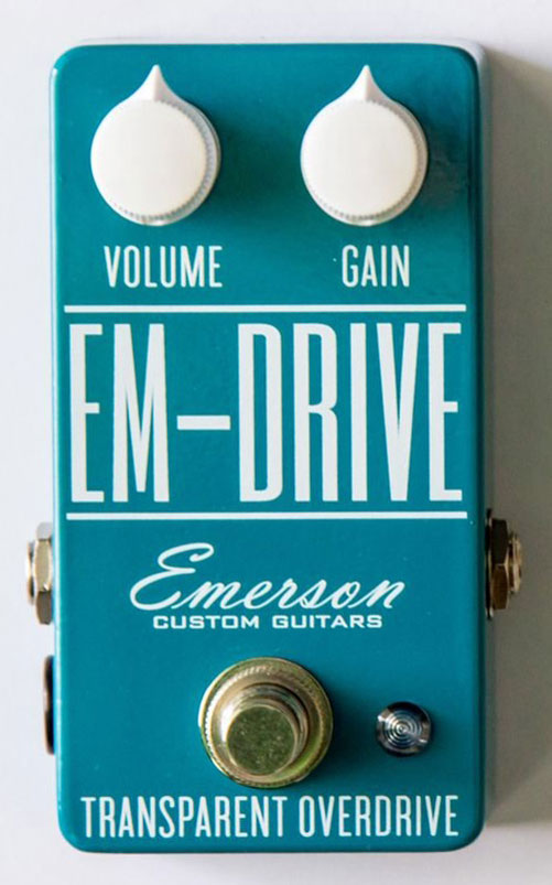 Emerson Custom EM Drive Transparent Overdrive