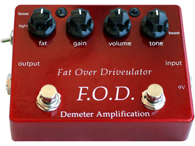 Demeter FOD-1 Fat Over Drivulator