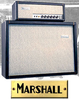 Marshall Limited Edition Offset JTM 45 and matching box