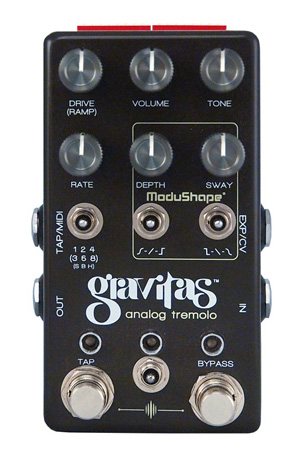 Chase Bliss Audio Gravitas Analog Tremolo