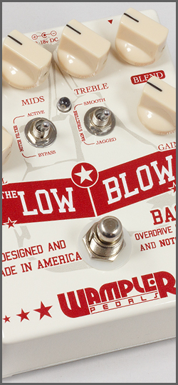 Wampler U.S.A. Low Blow bass overdrive