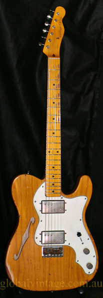 ~SOLD~Nash Guitars U.S.A. T72-TL `72 Thinline type