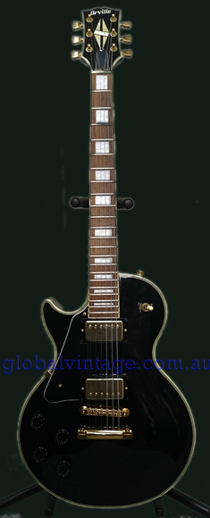 Orville Japan LEFT HANDED Les Paul Custom Type