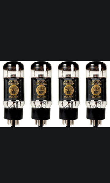 Electro Harmonix Matched Quad 6CA7 powertubes