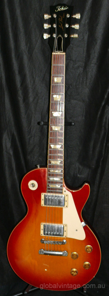 Tokai Japan Les Paul Reborn Cherry Sunburst